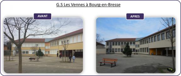 Groupe scolaire des vennes bourg en bresse spl oser - Chambre des metiers de bourg en bresse ...